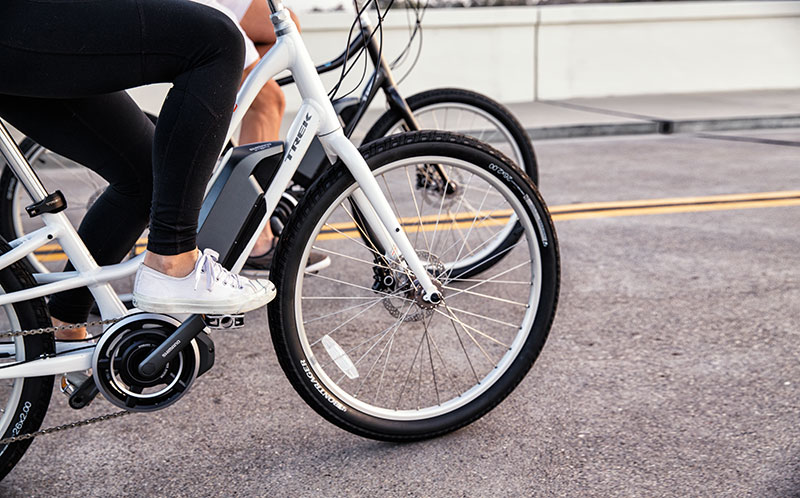 trek ride+ ebikes